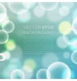 colorful bokeh abstract background vector image