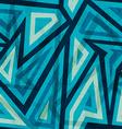 marine geometric seamless pattern vector image