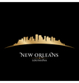 New Orleans Louisiana city skyline silhouette vector image vector image