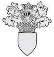 aristocratic emblem No32 vector image