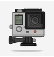 Camera for active Extreme sports vector image vector image