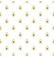 avocado pattern seamless vector image