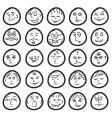 comic hand drawn vector image