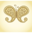 Paisley Butterfly vector image