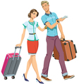 Family Travel vector image vector image