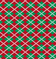 knit argyle pattern vector image