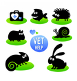 Veterinary clinic Pet vet help vector image