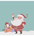 Santa gifts vector image
