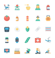 Medical and Health Colored Icons 6 vector image