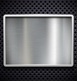brushed metal Stock vector image