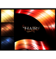 Hair palette banners vector image