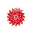 blossom logo vector image