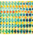 Colorful Grid Pattern vector image vector image
