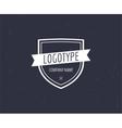 Abstract vintage logo design elements vector image