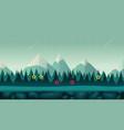 cartoon night game background seamless vector image