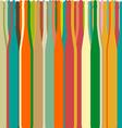 Background bottles color vector image