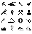 icons construction and repair vector image