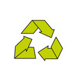 environment care symbol to protection of nature of vector image