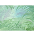 Green leaves background vector image