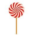 Hypnotizing lollipop vector image