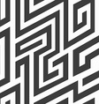 monochrome spiral seamless pattern vector image vector image