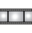 film strip with space for your text or image vector image vector image