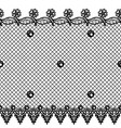 seamless texture with lace design vector image