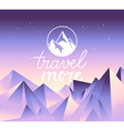 travel concept and logo design element vector image