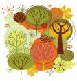 autumn vector image