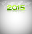 World Layout 2015 vector image
