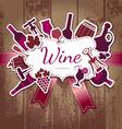 wine kitchen vector image