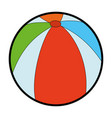 Ball icon image vector image