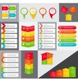Big Set of Infographic Banner Templates for Your vector image