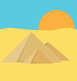 Pyramid egypt vector image