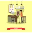Coffee house cafe shop concept vector image
