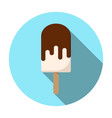 popsicle icon modern minimalistic flat design vector image