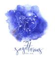 astrology sign sagittarius vector image vector image