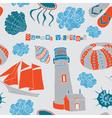 Sea love vector image