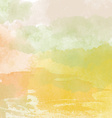 Abstract hand-drawn watercolor background vector image
