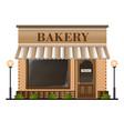 bakery facade vector image