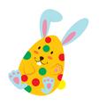 Easter Egg 4 vector image