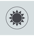 circle icon on gray background Eps 10 vector image vector image