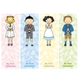 set first communion vector image vector image