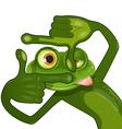 Creative frog vector image
