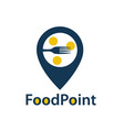 food point icon vector image