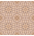 Seamless pattern with decorative ornament vector image