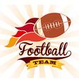sport emblem design vector image