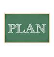 Plan vector image