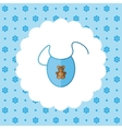 Bib Newborn clothes vector image