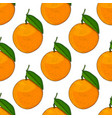 oranges hand drawn colored sketch as seamless vector image